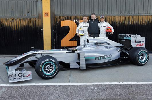 MercedesGP W01