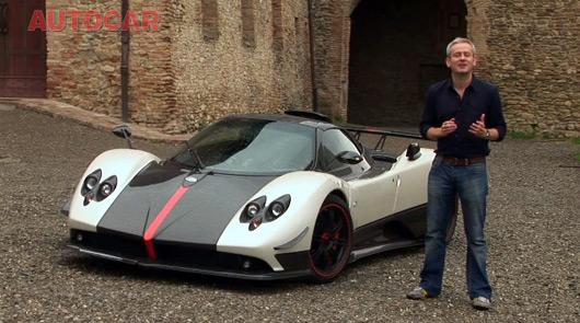 Ausmotive Video Autocar Drive The Pagani Zonda Cinque Roadster