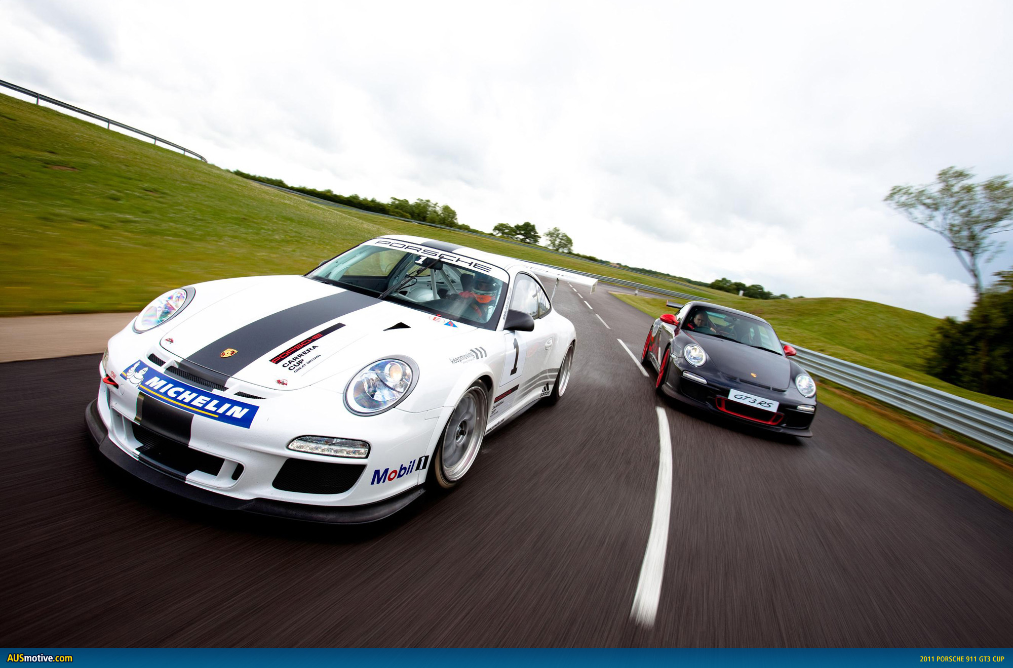 First, from Porsche UK some