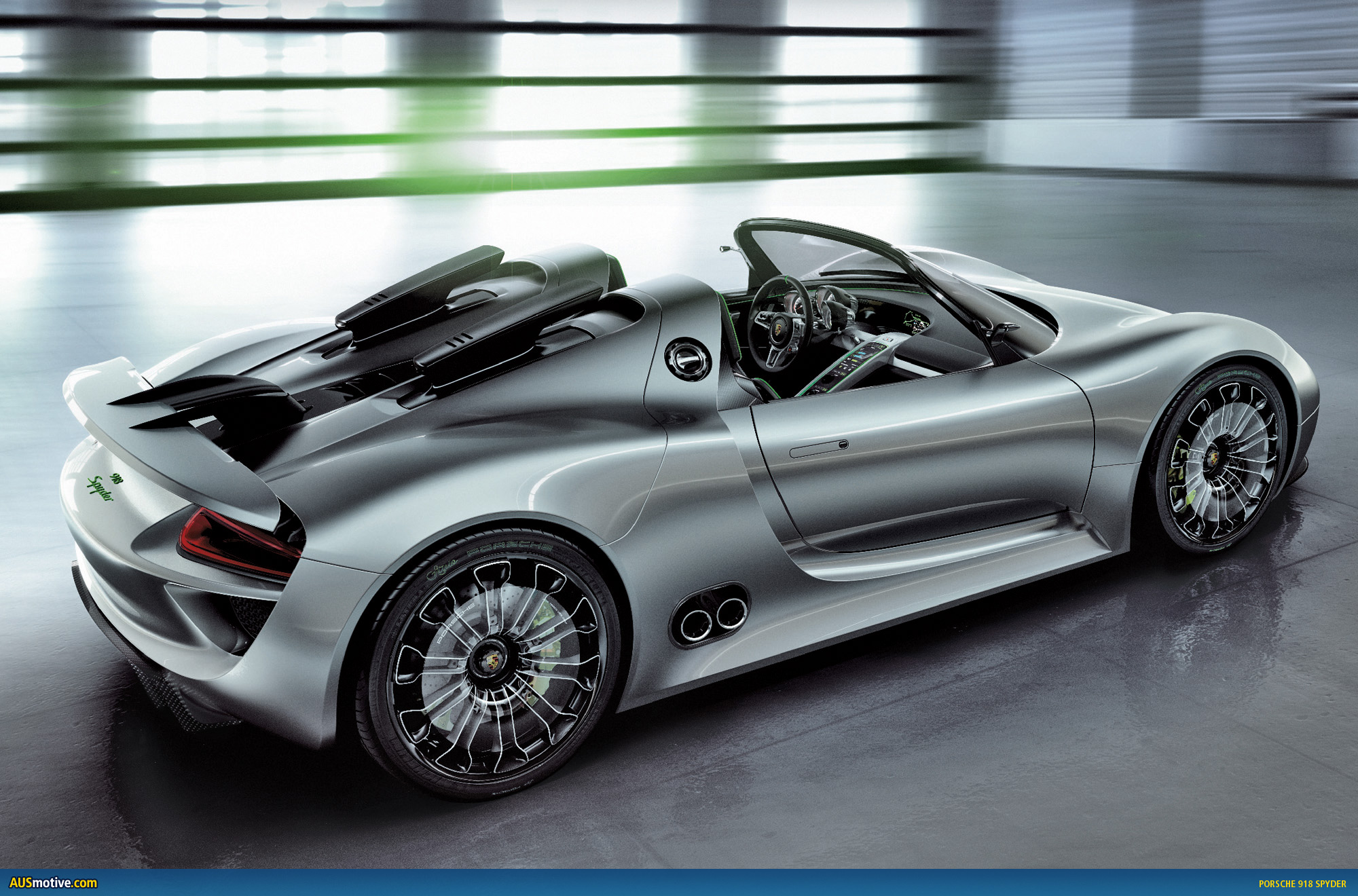 geneva porsche 918 spyder with hybrid drive. Black Bedroom Furniture Sets. Home Design Ideas