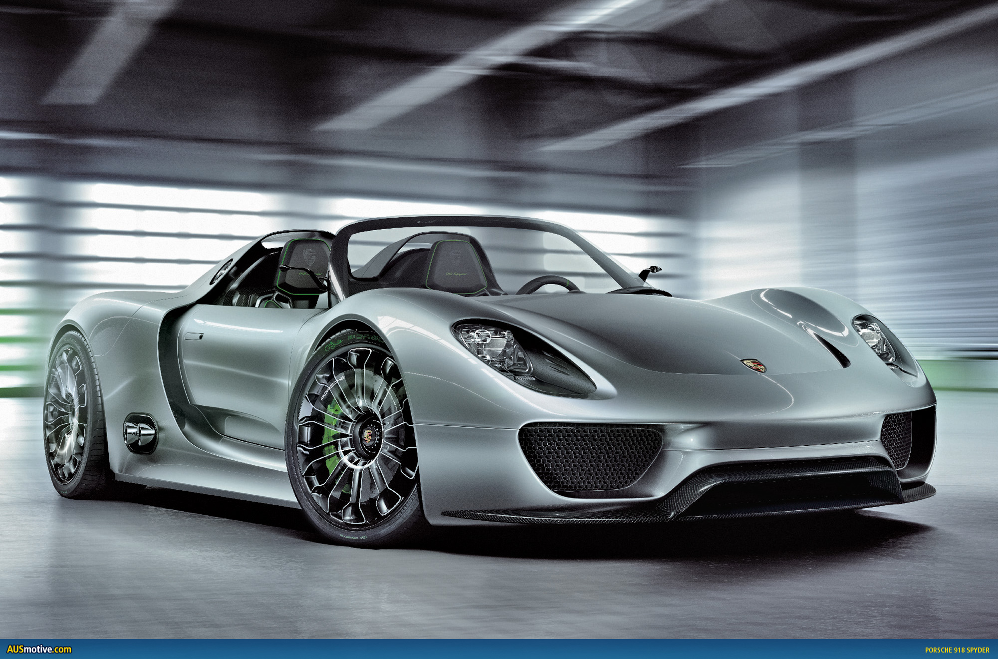 Ausringers Com 187 Porsche 918 Spyder Set To Race In 2011 24