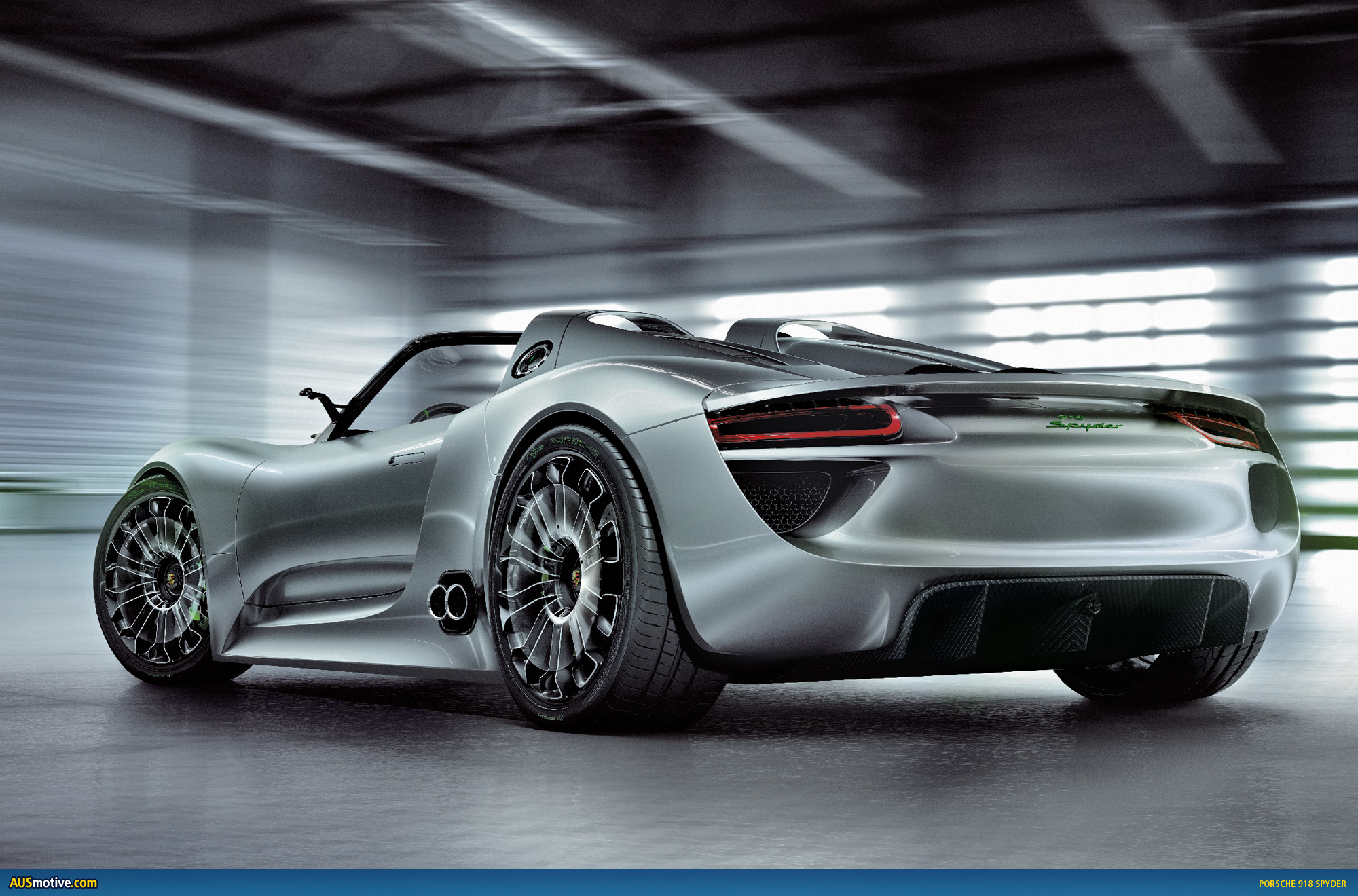 Geneva Porsche 918 Spyder With Hybrid Drive Engine Diagram