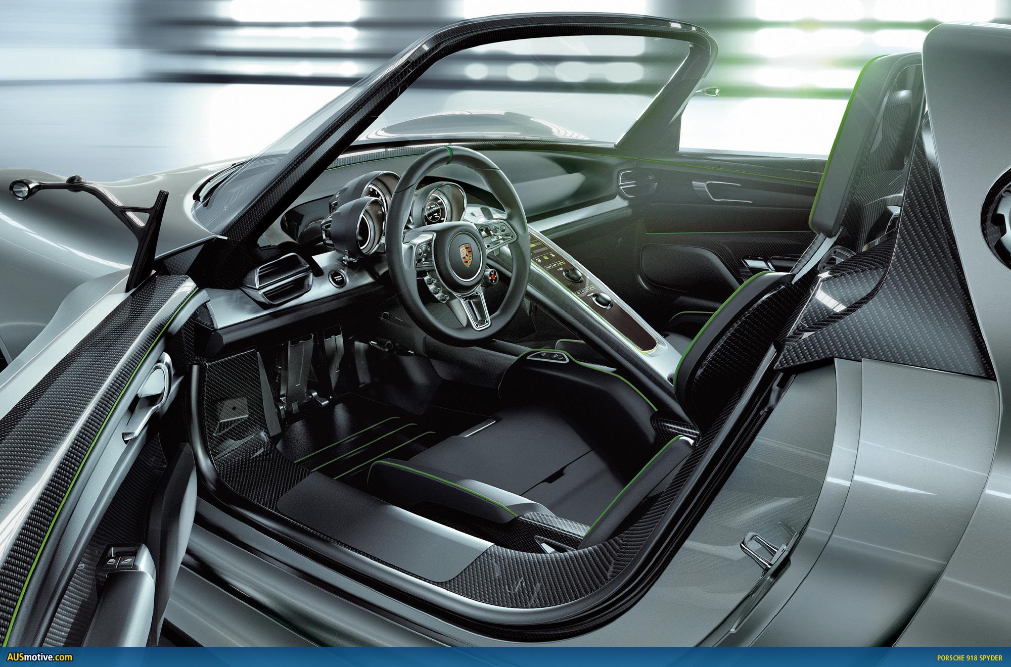 geneva porsche 918 spyder with hybrid drive. Black Bedroom Furniture Sets. Home Design Ideas