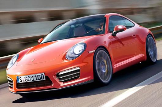 Porsche 991 911 rendering