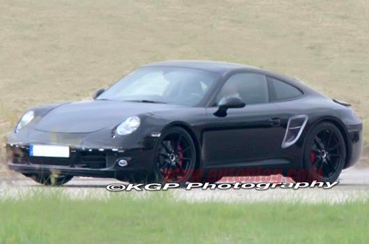 Porsche 991 911 spy shot