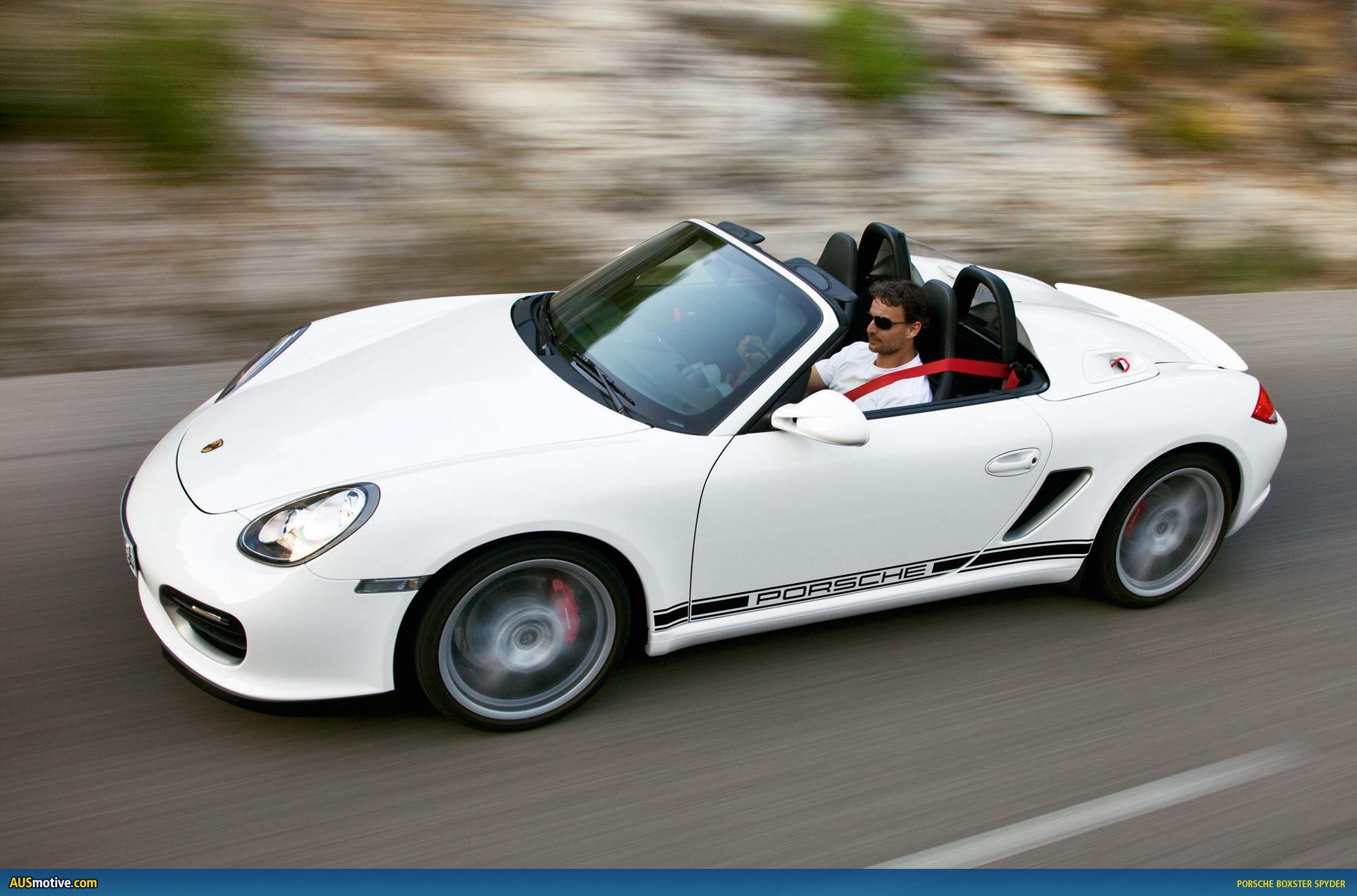 Ausmotive Com 187 Porsche Boxster Spyder Image Gallery