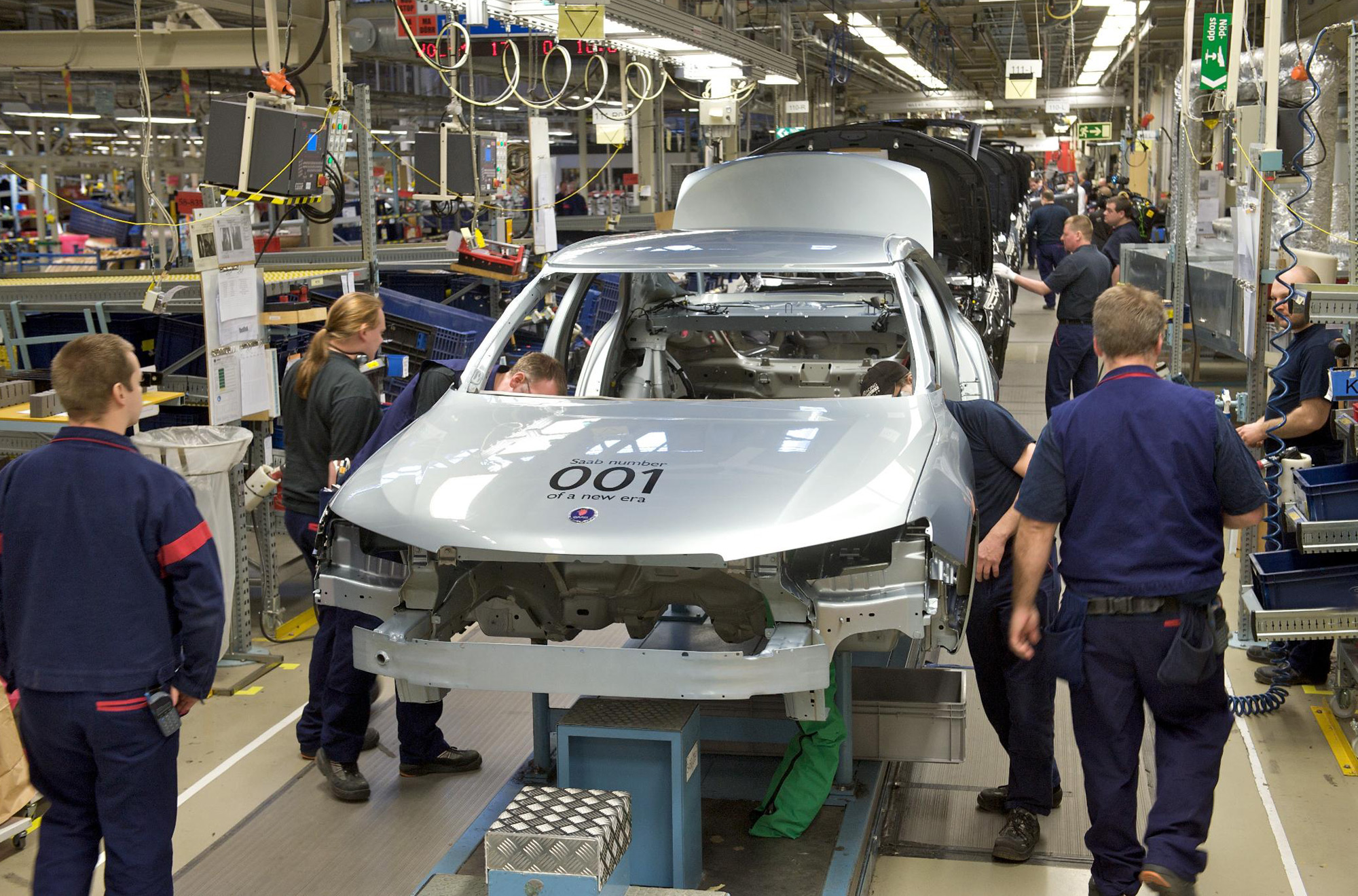 Ausmotive Com 187 Saab Production Enters New Era