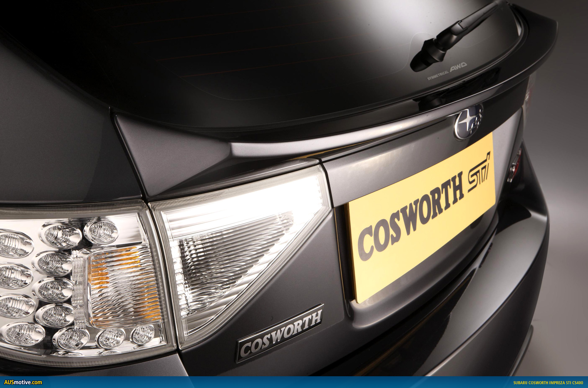 New Cosworth Impreza STI CS400