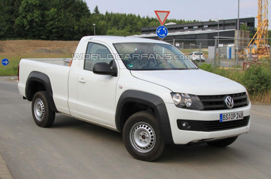 ausmotive » vw amarok single cab spy shots