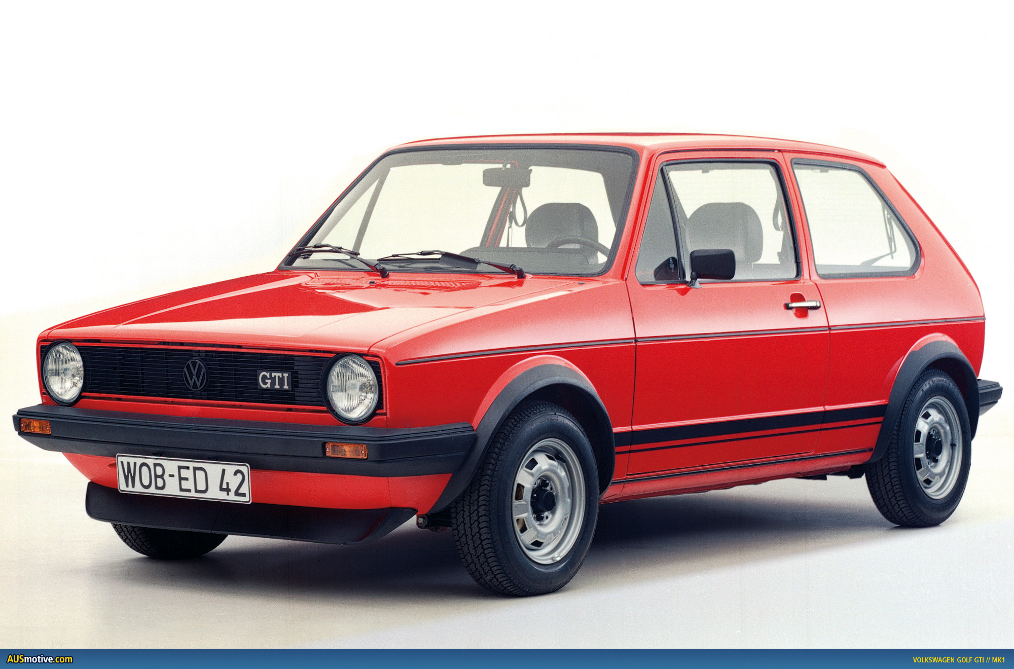 of the iconic Mk1 Golf GTI
