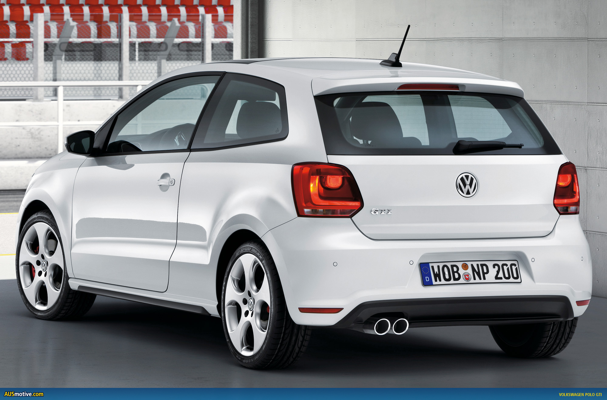 volkswagen polo gti breaks cover ahead of geneva. Black Bedroom Furniture Sets. Home Design Ideas