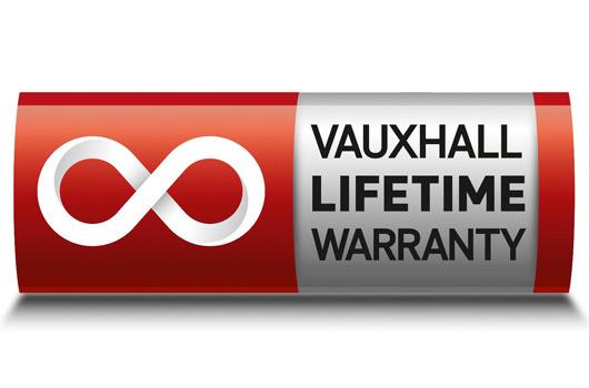 Vauxhall lifetime warranty