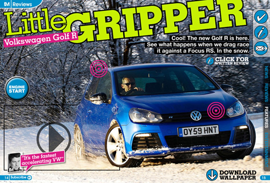 iMOTOR reviews new Golf R