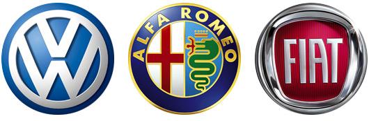 Volkswagen-Alfa Romeo-Fiat
