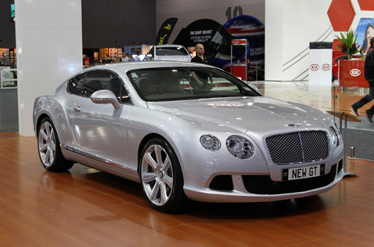 Bentley at AIMS 2011