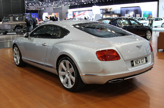 Bentley at AIMS 2011