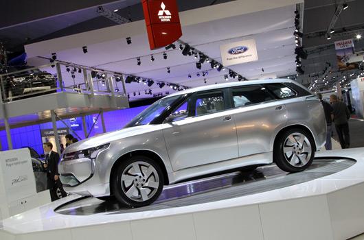 Mitsubishi at AIMS 2011
