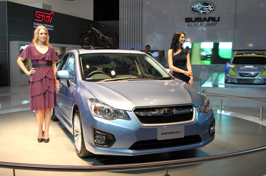 Subaru at AIMS 2011