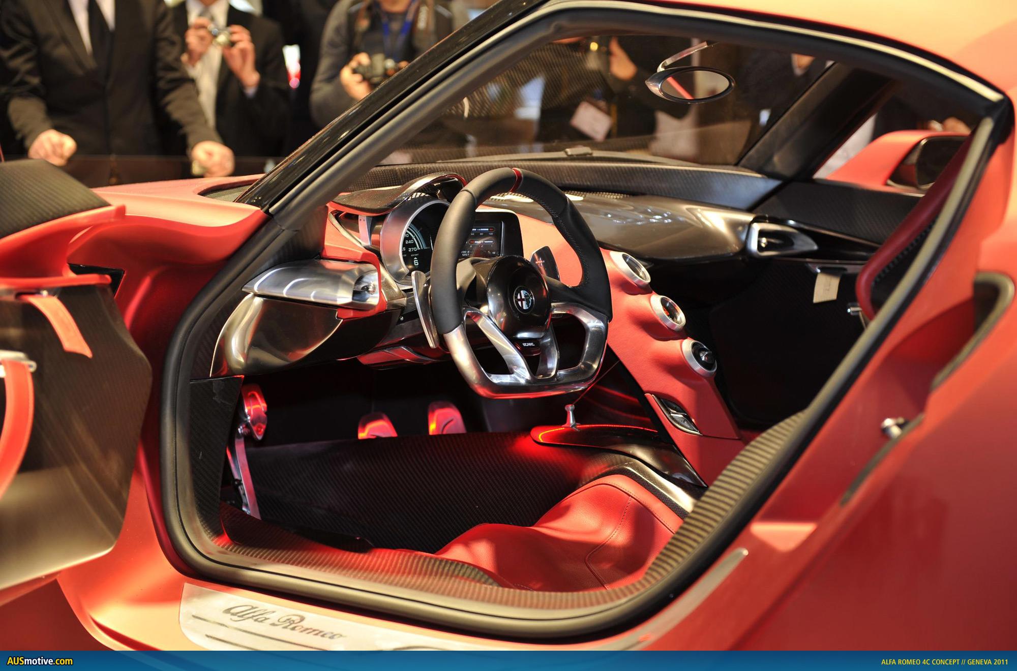 AUSmotive.com » Geneva 2011: Alfa Romeo 4C Concept