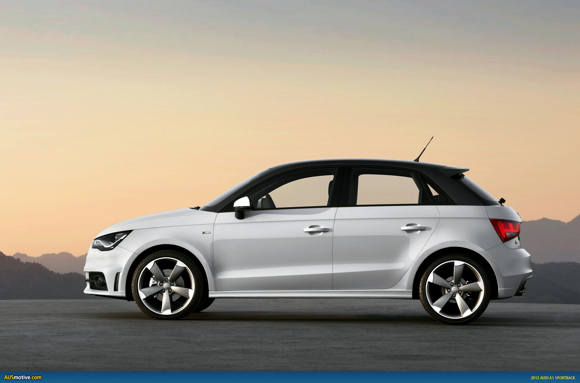 audi a1 sportback photo gallery. Black Bedroom Furniture Sets. Home Design Ideas