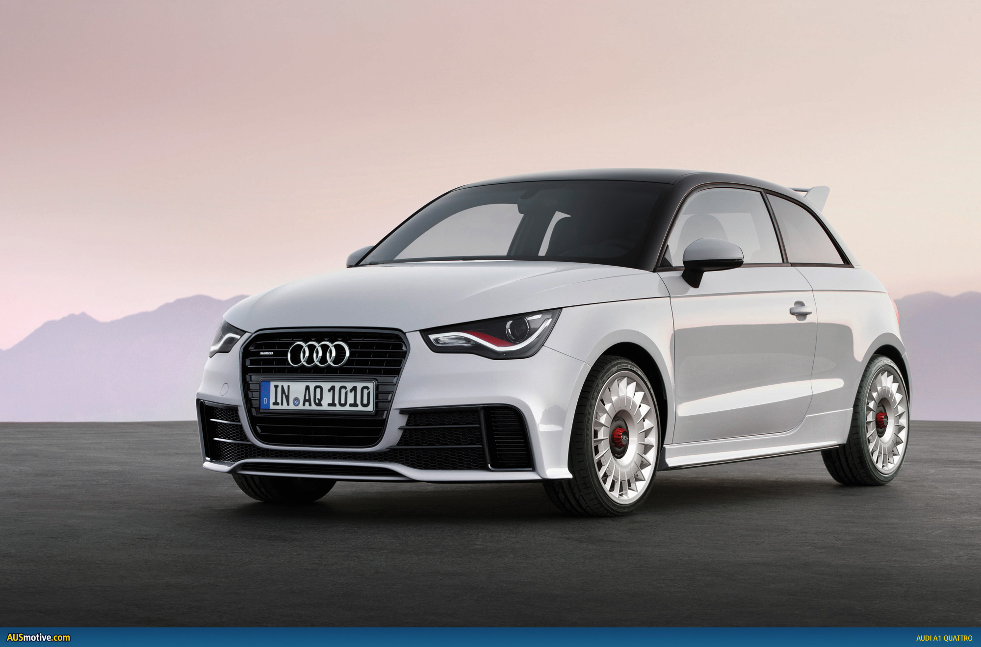 limited edition audi a1 quattro revealed. Black Bedroom Furniture Sets. Home Design Ideas