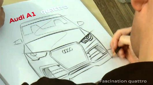 Audi A1 quattro teaser