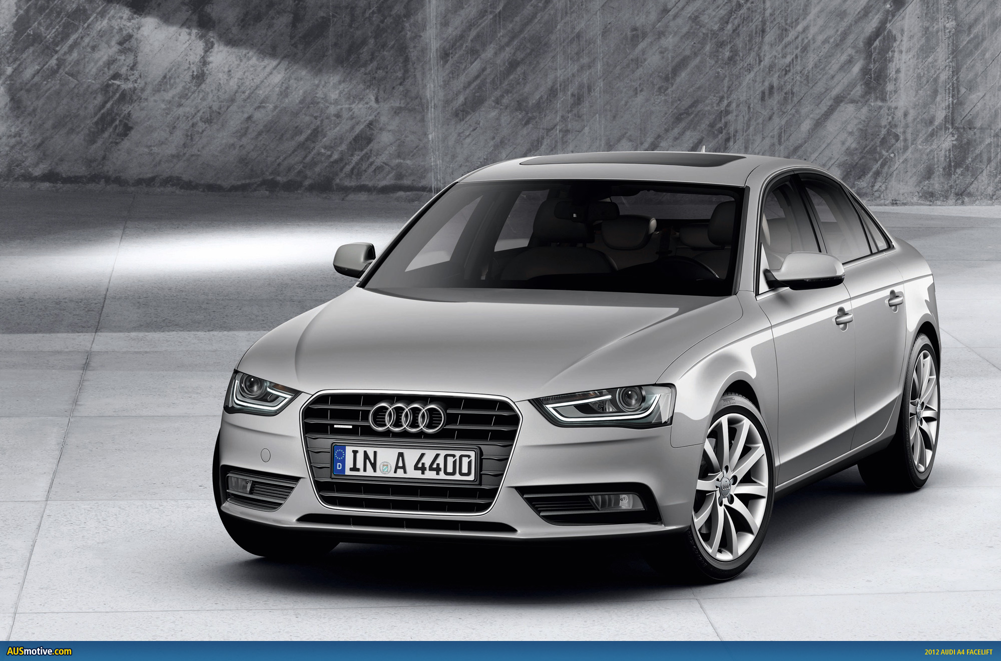 2012 audi a4 facelift photo gallery. Black Bedroom Furniture Sets. Home Design Ideas