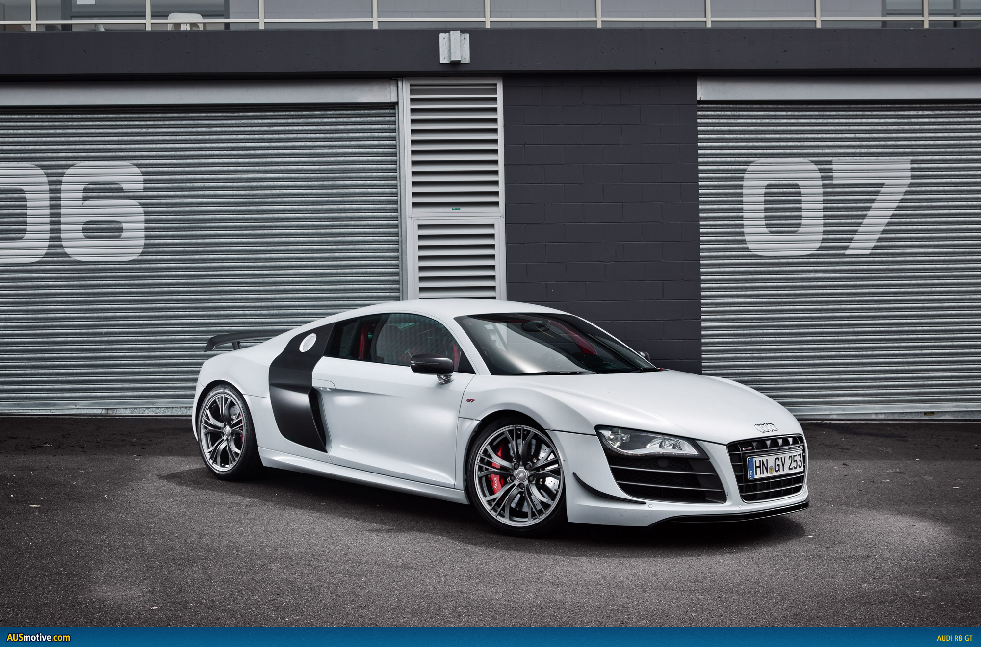 audi r8 gt aims for melbourne. Black Bedroom Furniture Sets. Home Design Ideas