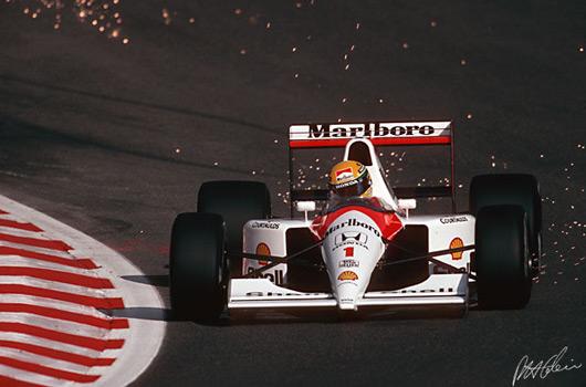 Ayrton Senna, 1991 Belgian GP