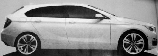 BMW 1 Series GT rendering