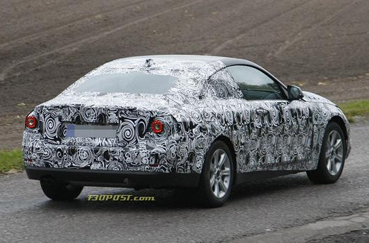 BMW 4 Series prototype