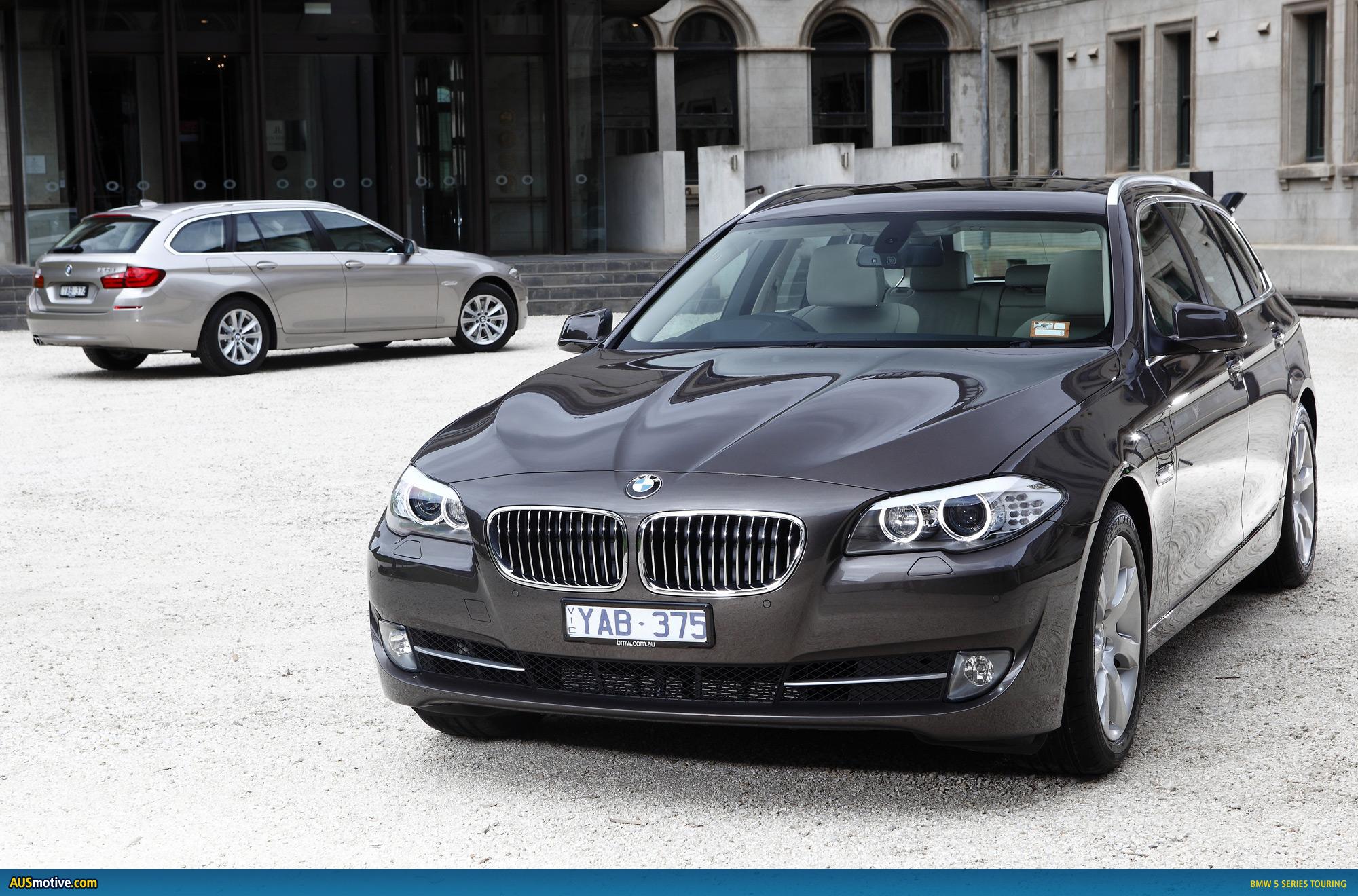 AUSmotive.com » BMW 5 Series Touring – Australian pricing & specs