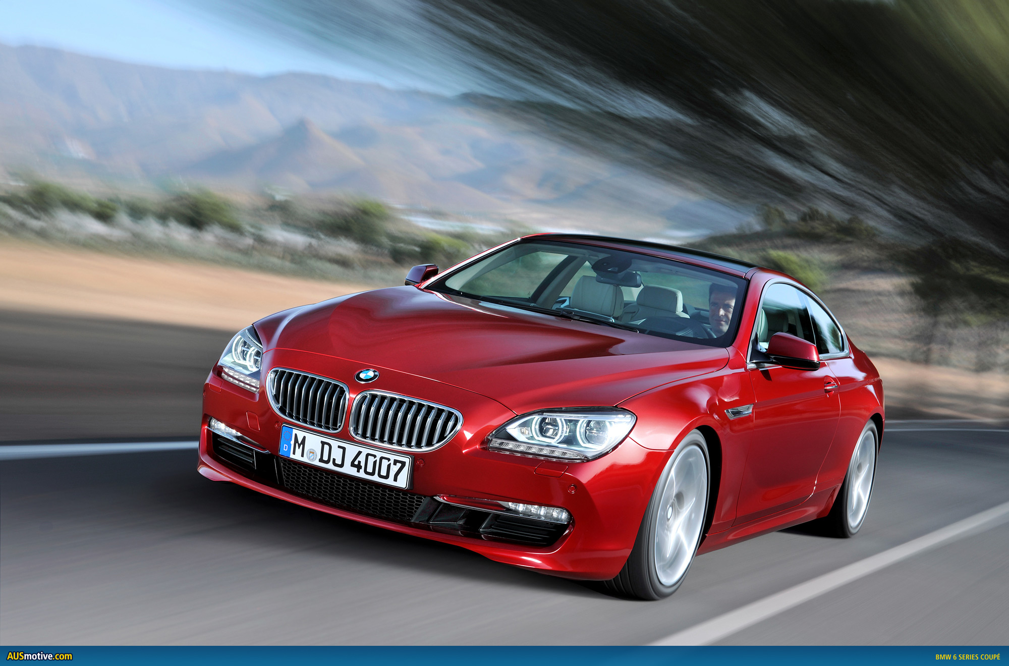 ausmotive » bmw reveals the new 6 series coupé
