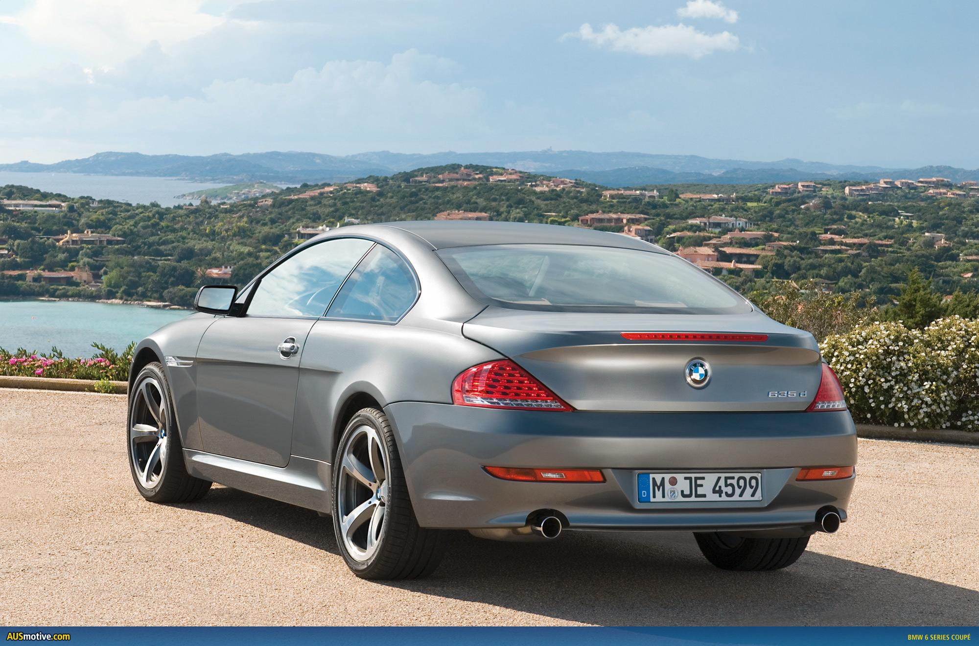 Ausmotive com bmw reveals the new 6 series coup