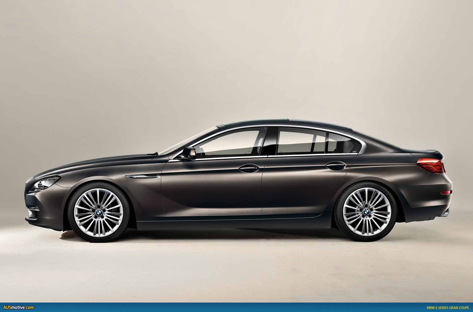 bmw 6 series gran coup revealed. Black Bedroom Furniture Sets. Home Design Ideas