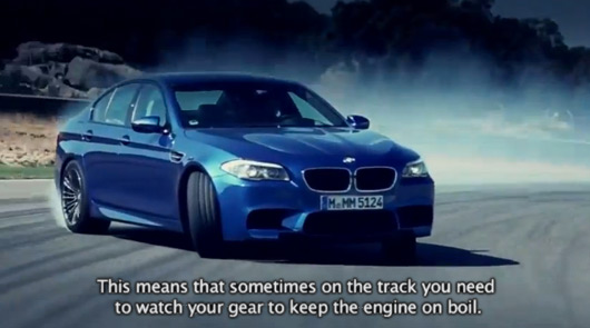 BMW F10 M5 video review