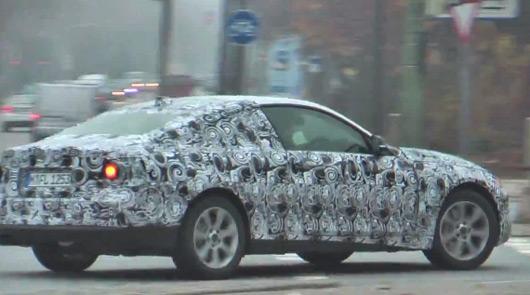 BMW F32 4 Series prototype