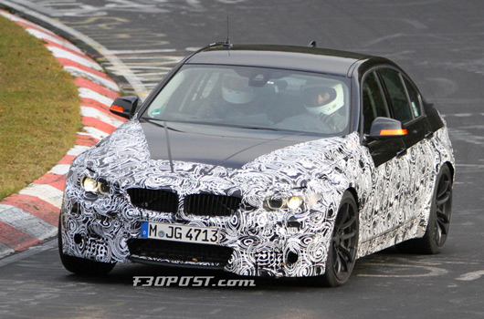 BMW F80 M3 prototype