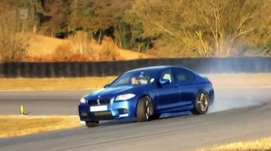 BMW F10 M5 reviewed by Fifth Gear