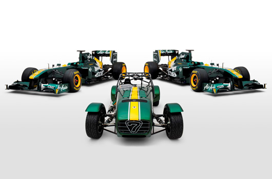 Caterham and Team Lotus