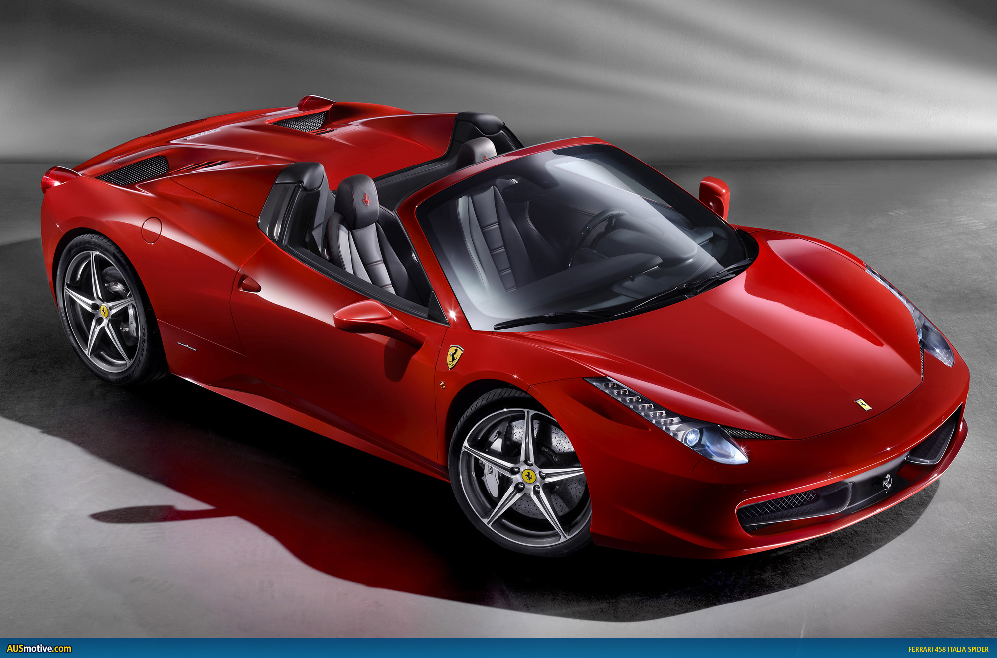 official ferrari 458 italia spider. Black Bedroom Furniture Sets. Home Design Ideas