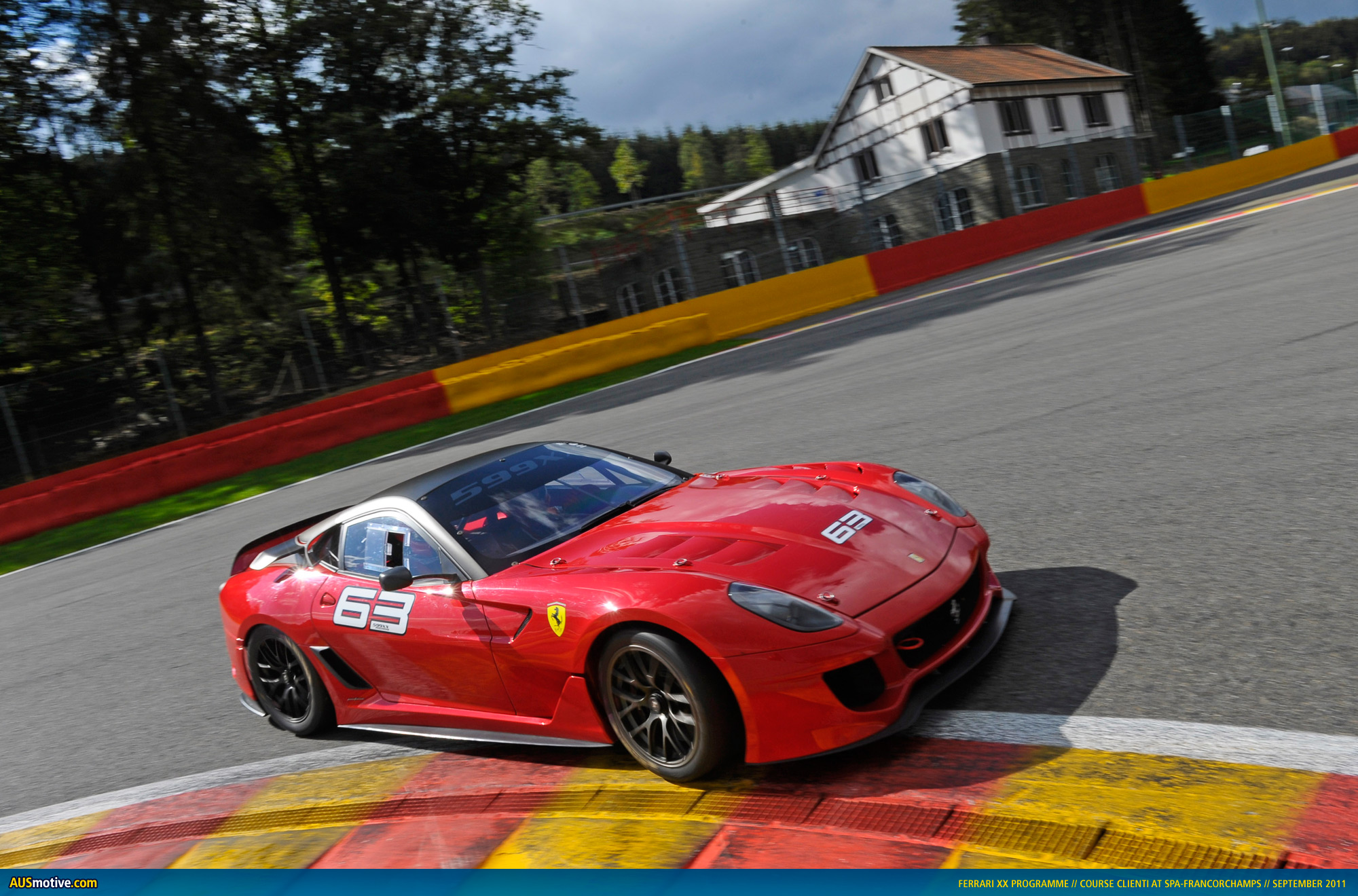 ferrari 599xx and historic f1 cars at spa. Black Bedroom Furniture Sets. Home Design Ideas