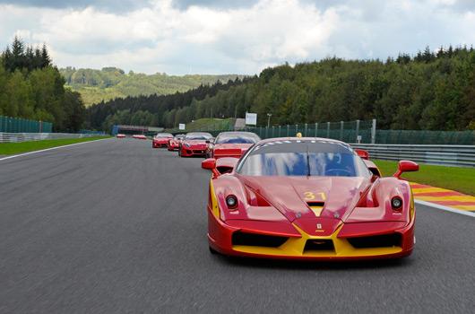 Ferrari XX programme corse clienti at Spa