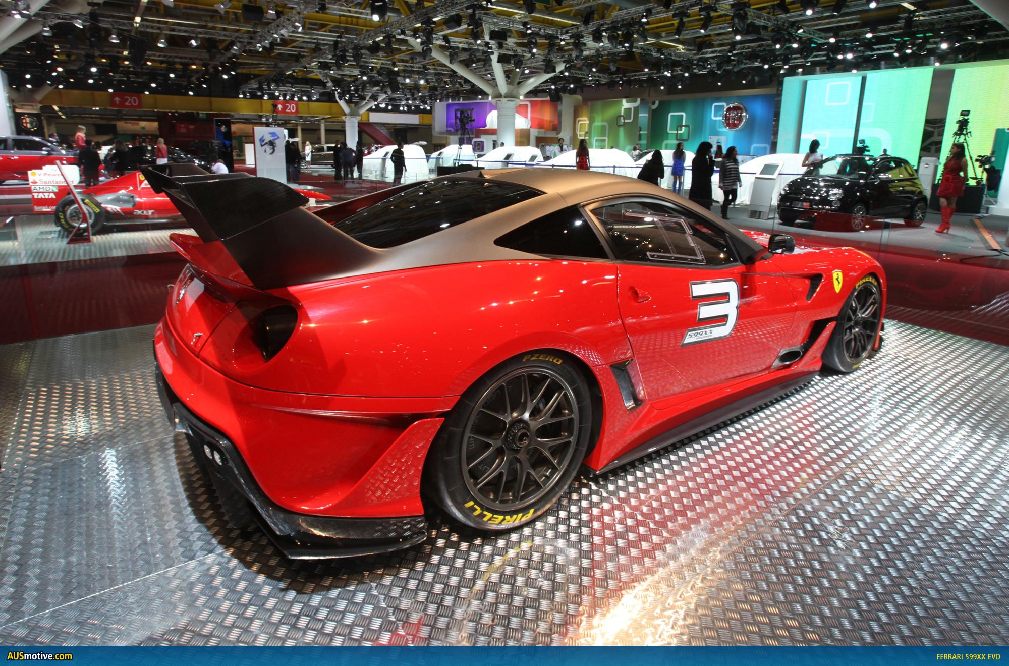Ausmotive bologna 2011 ferrari 599xx evolution package ferrari 599xx evo vanachro Image collections