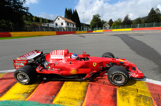 Ferrari F1 corse clienti at Spa