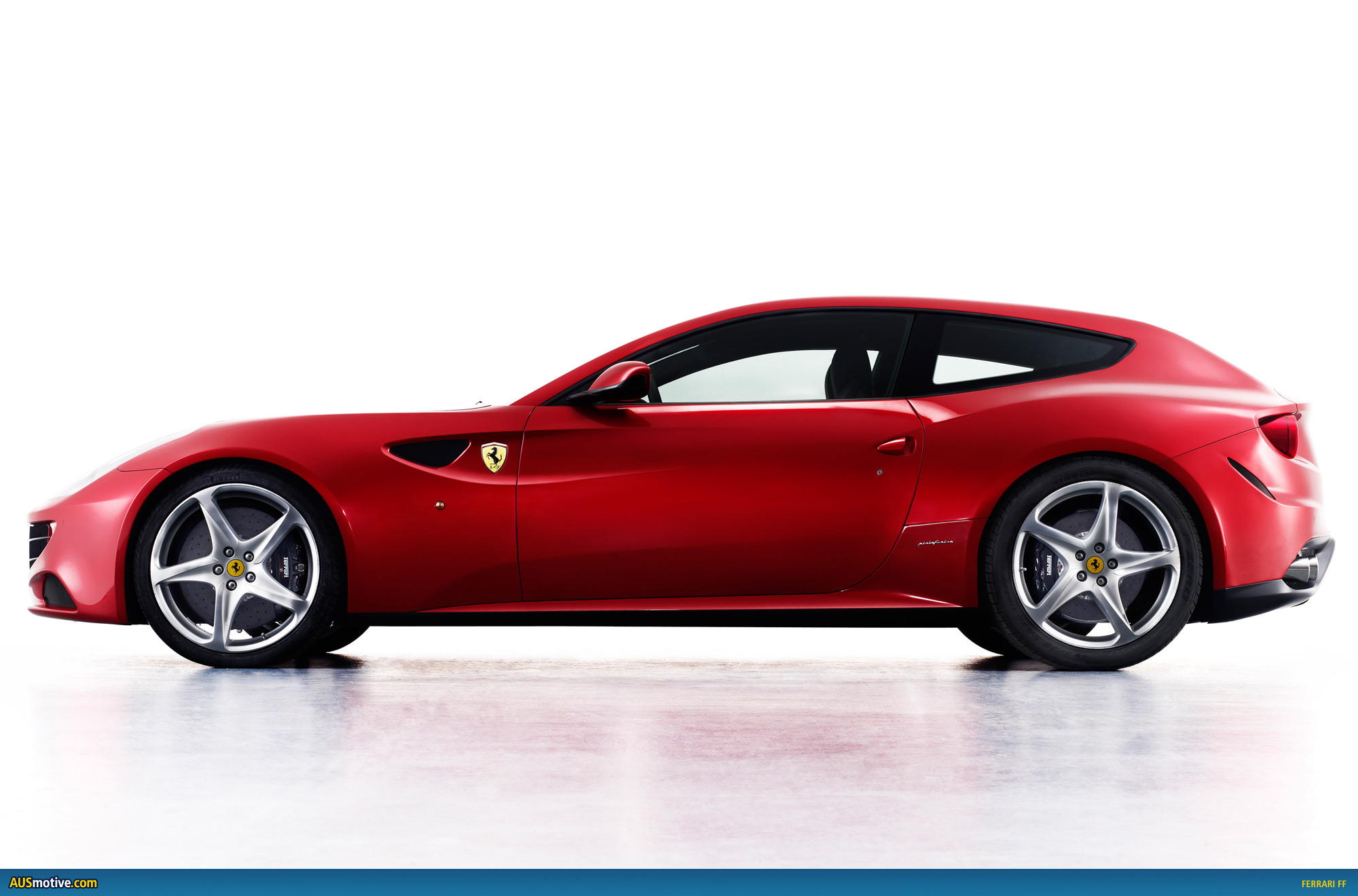 Ausmotive Com 187 Ferrari Ff Gets On The Four Seater Wagon