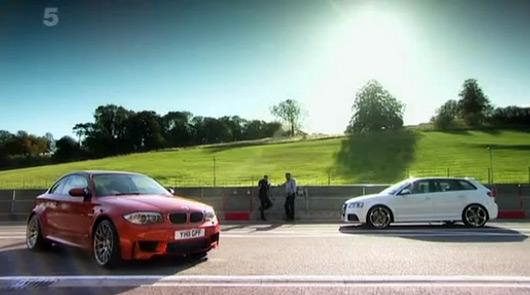 Audi RS3 v BMW 1M