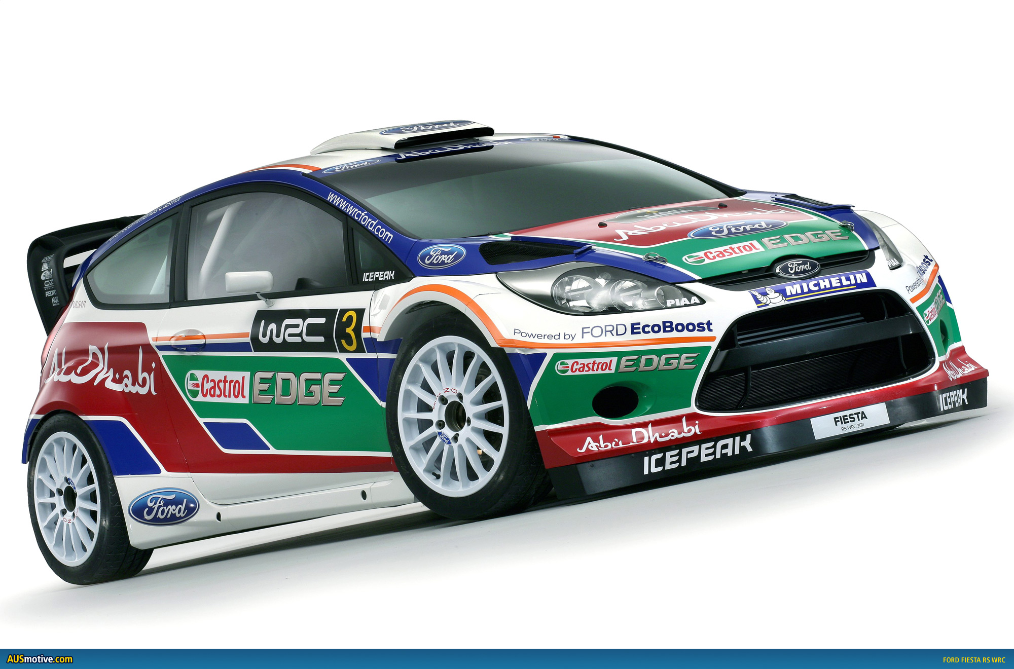 Ford Fiesta RS WRC ready for Finnish start