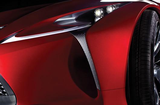 Lexus Detroit concept teaser