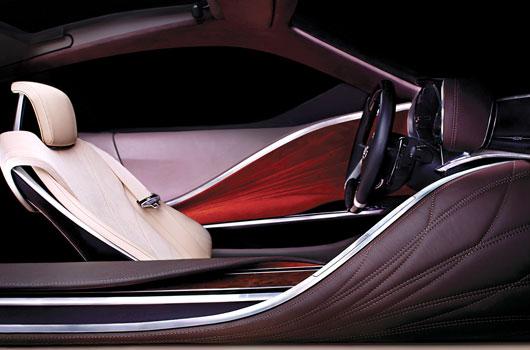 Lexus concept vehicle preview